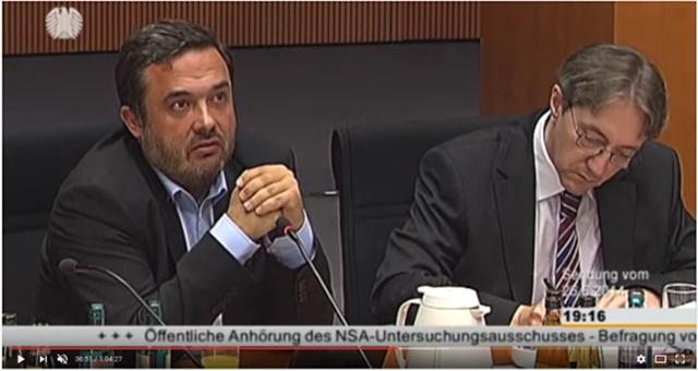 Frank Rieger im NSA-Untersuchungsausschuss